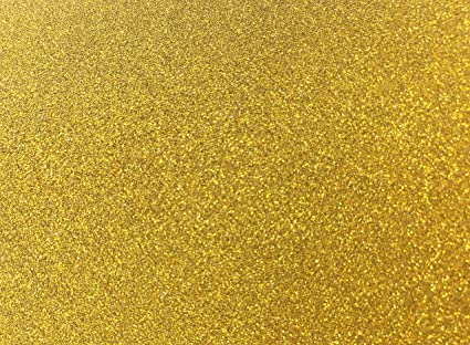 Amazon Heidi Craft10 X A4 Golden Glitter Sheet Paper Stickers