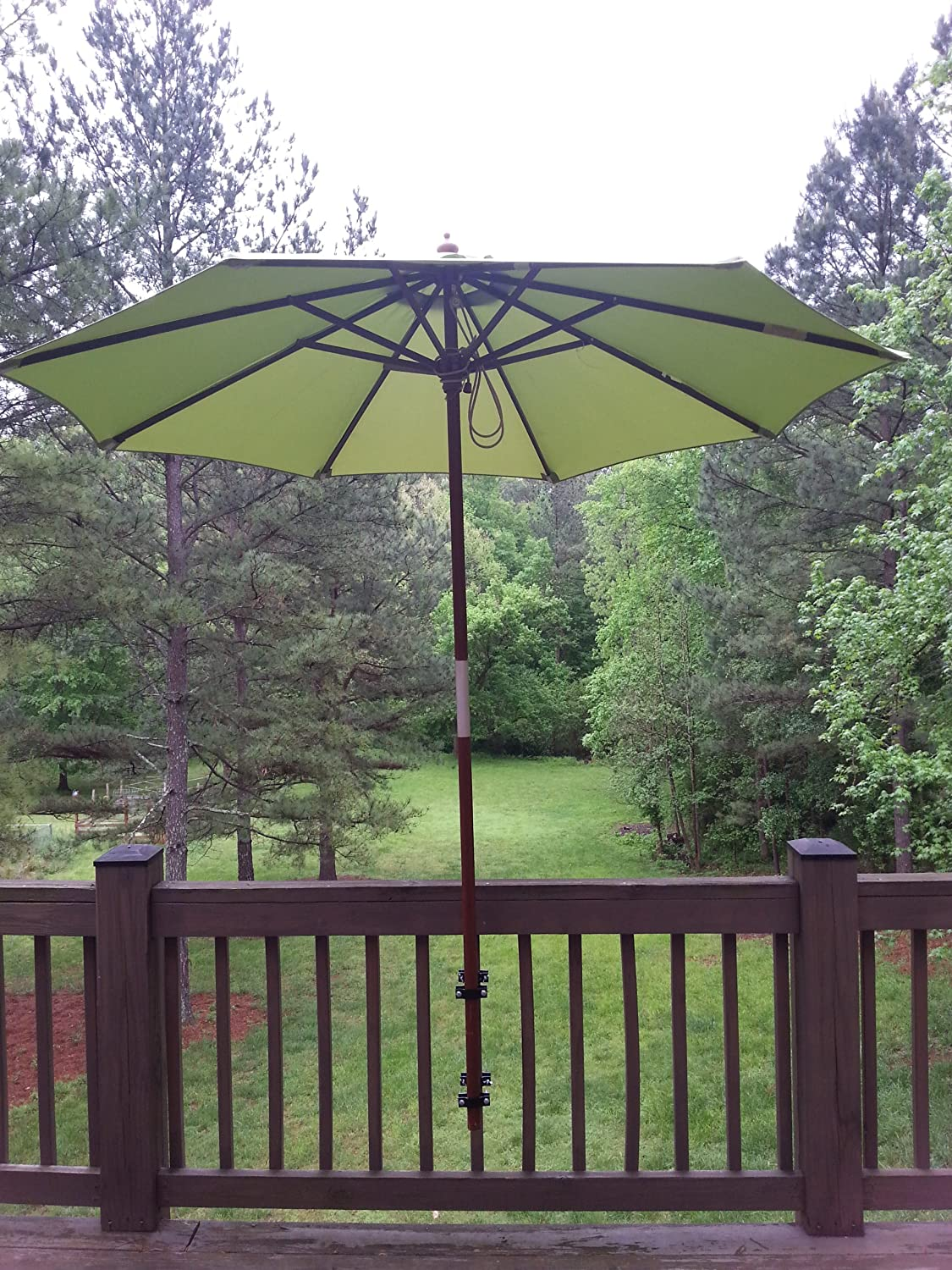 Amazon Com Umbrella Mount Patio Umbrellas Garden Outdoor