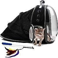 Pet Fit For Life Mochila transportadora de burbujas para mascotas para viajar con gatos, cachorros y pequeños animales…