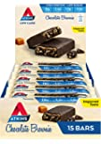 Atkins Chocolate Brownie Bars | Keto Friendly Bars | 15 x 60g Low Carb Chocolate Brownie Bars | Low Carb, Low Sugar…