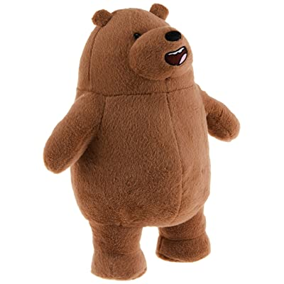 "GUND We Bare Bears Standing Grizz Stuffed Plush Bear, 11"": Gund: Toys & Games"