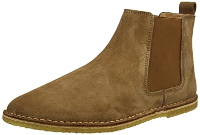 Pretty Green Herren Mens Suede Chelsea Boots Amazon De Schuhe