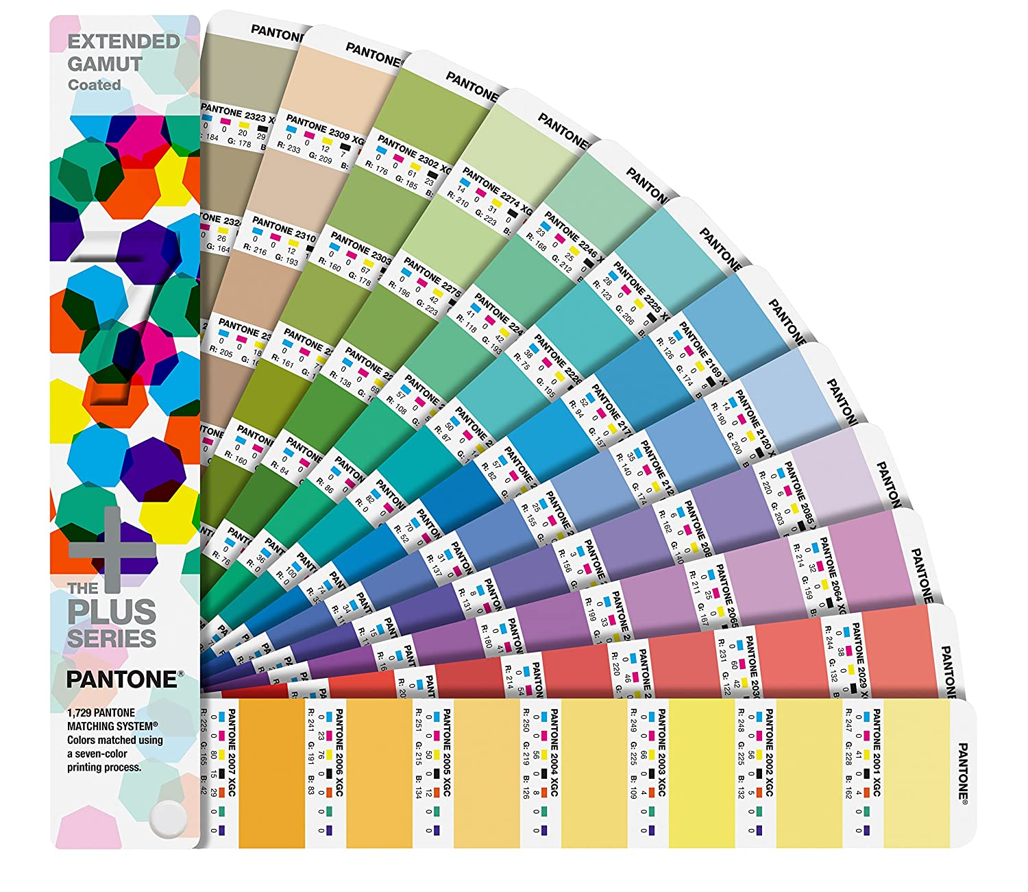 Pantone Abflammgeräte, Extended Gamut Coated Guide, GG7000