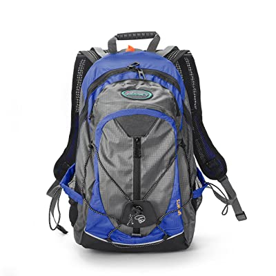 15L Hydration Backpack--Juboury Air Cooling 3D Back Support Design Hydration Rucksack Bag with All Weather Cover for Running, Hiking, Biking Outdoor Sports and Daily Use