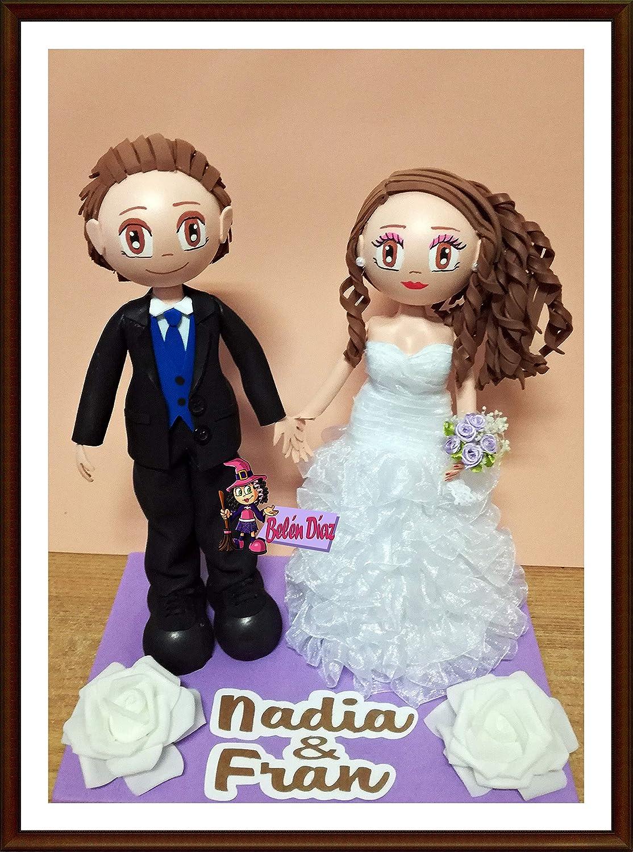 Fofuchas novios boda personalizadas: Amazon.es: Handmade