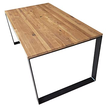 Esstisch Küchentisch Esszimmertisch Gartentisch Massives Akazienholz 180x90cm DE