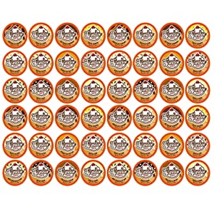 Sundae Ice Cream Assorted Flavored Coffee Pods, 2.0 Keurig K-Cup Compatible, 12 Flavors (Variety Pack Sampler) 48 Count