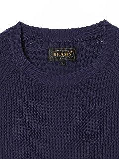 Cotton Rib Crewneck Sweater 11-15-1023-103: Navy