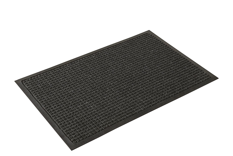 106604fb9dad Guardian WaterGuard Indoor/Outdoor Wiper Scraper Floor Mat 2x3 Blue 2'x3'  Millennium Mat Company WG020302 ...