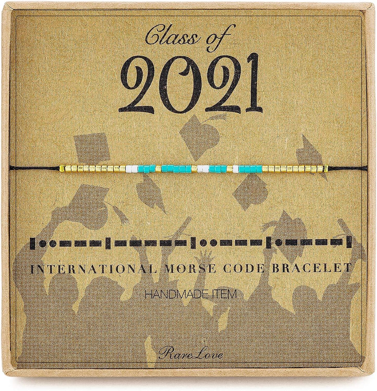 2021 Graduation Grad Gift for Friends Graduation Bracelet Beaded Bracelet College Graduation Gifts for Her Graduation Gift for Daughter