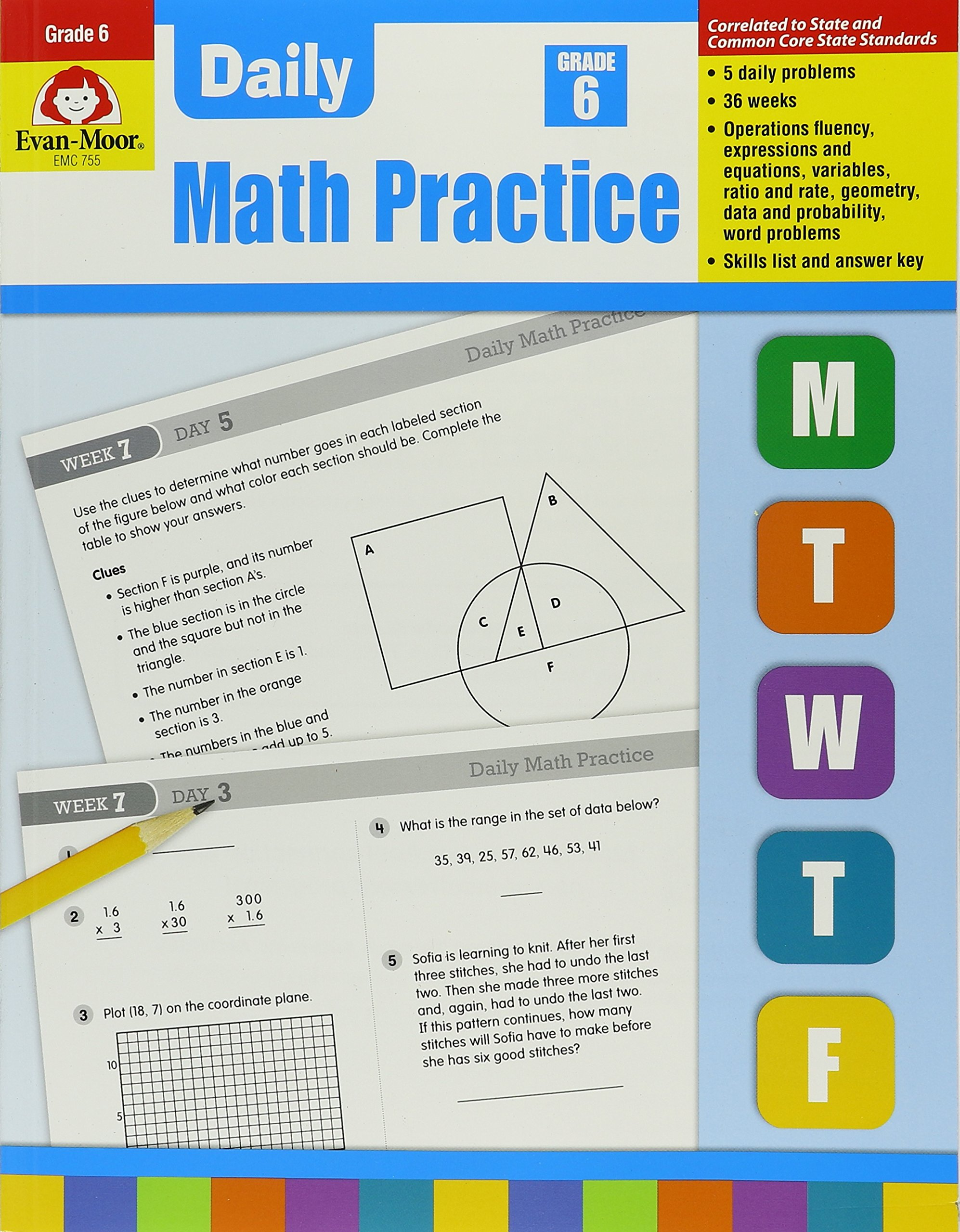 Daily math practice grade 6 wes tuttle 0023472007551 amazon daily math practice grade 6 wes tuttle 0023472007551 amazon books fandeluxe Gallery