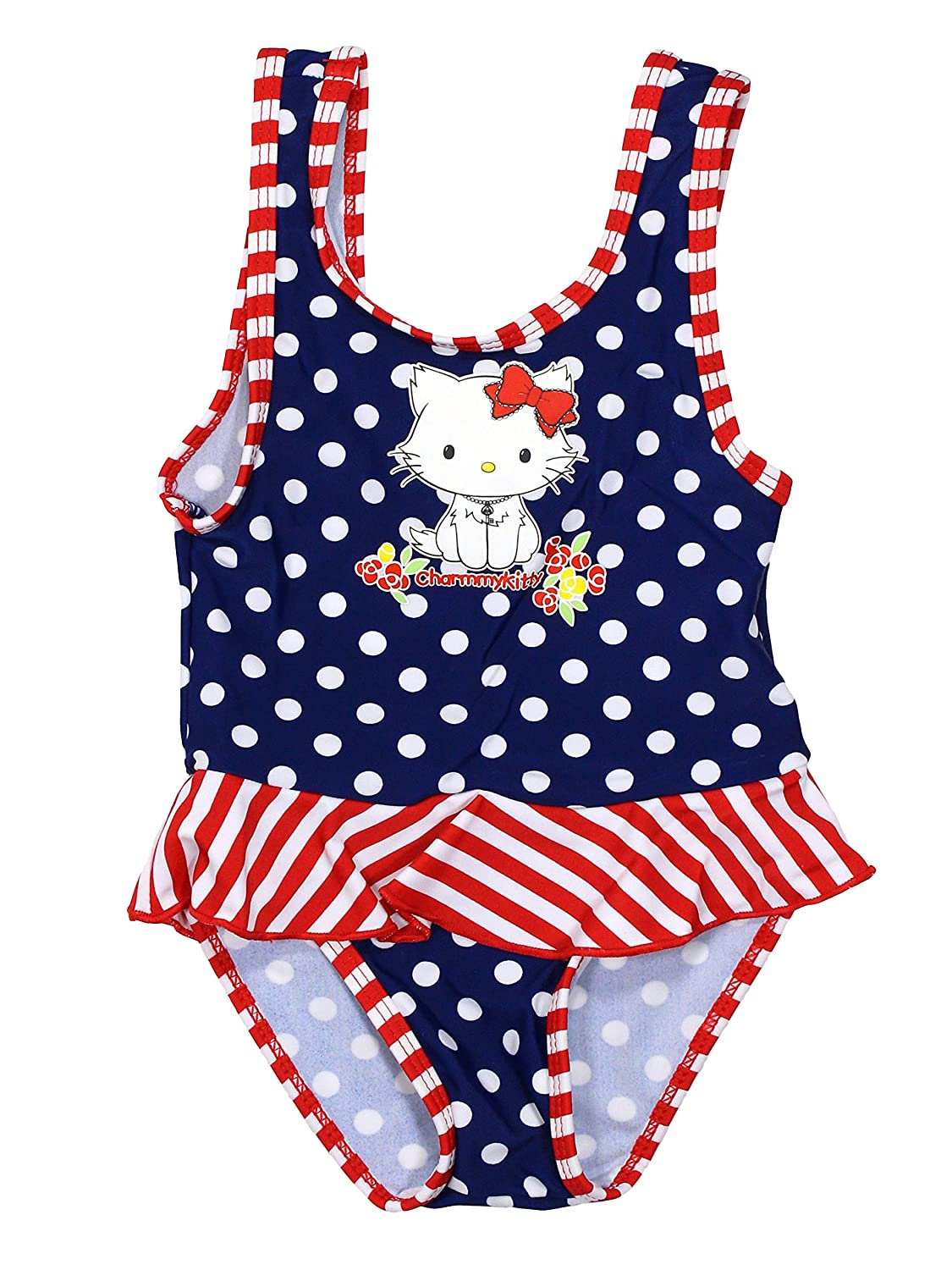 Hello Kitty Official Baby-Girls Swimsuit Age 6//23 Months