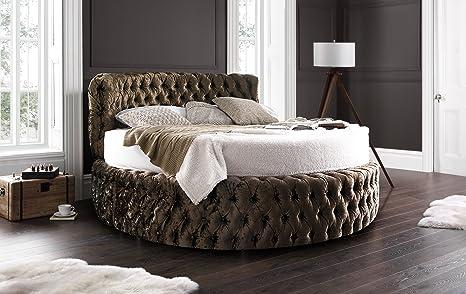 Glamour 6 FT6 letto rotondo con free 20,3 cm materasso in ...