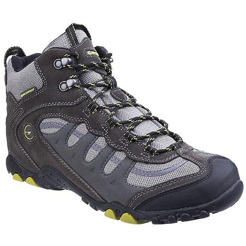 Hi-Tec - Penrith Mid Waterproof, Botas de senderismo Hombre, Gris (Charcoal