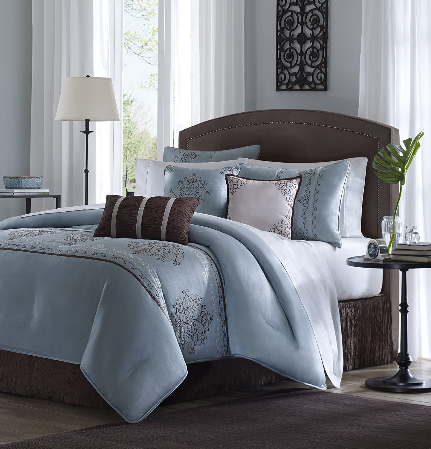 Best blue bedding sets sale ease bedding with style for Best color bed sheets
