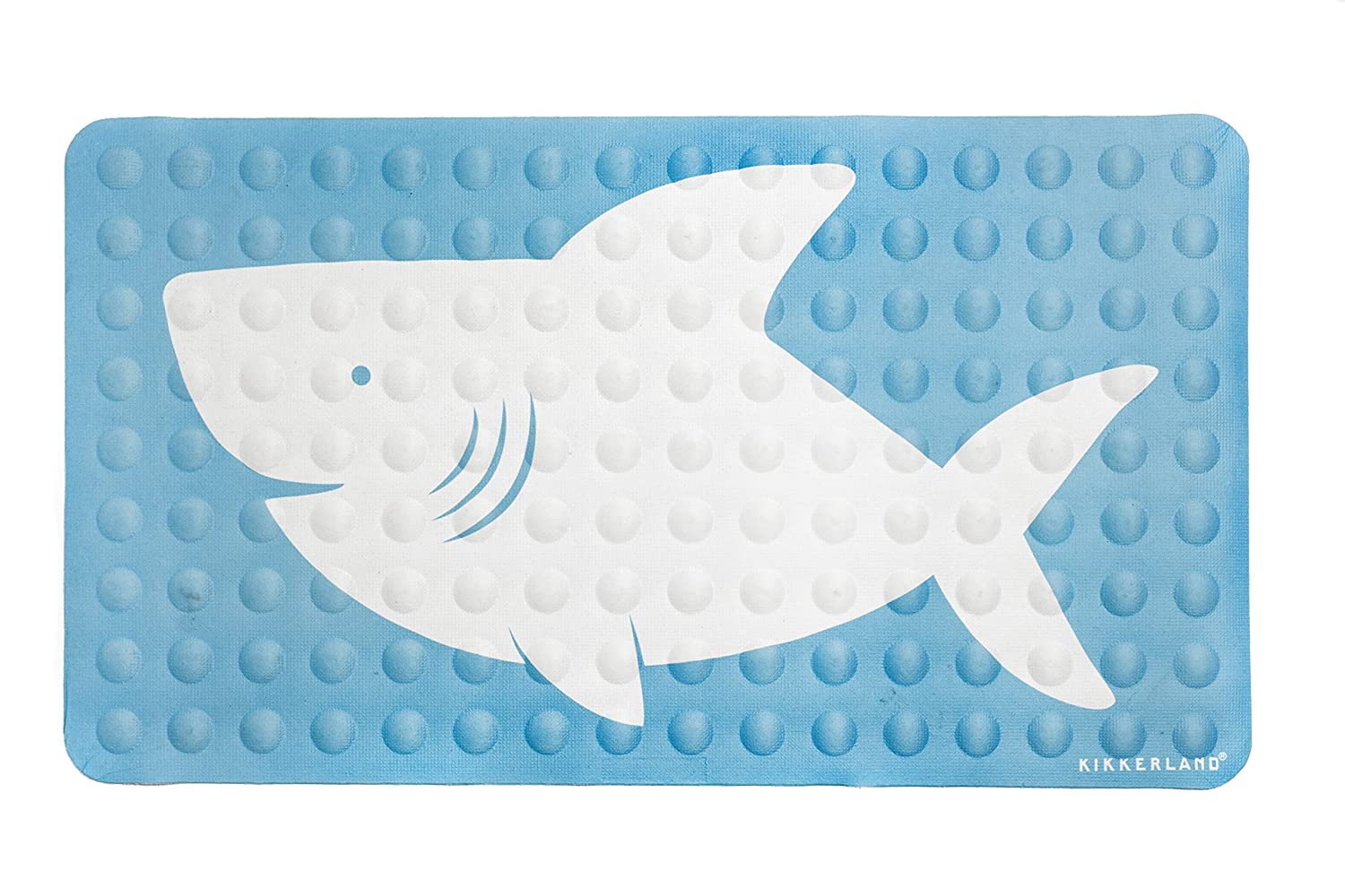 Amazon Kikkerland Bathmat Shark Natural Rubber High Grip