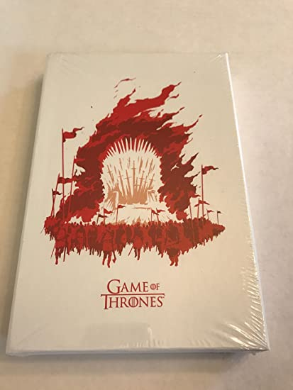 Moleskine Game Of Thrones Limited Edition Plain//Ruled Pocket//Large Notebook