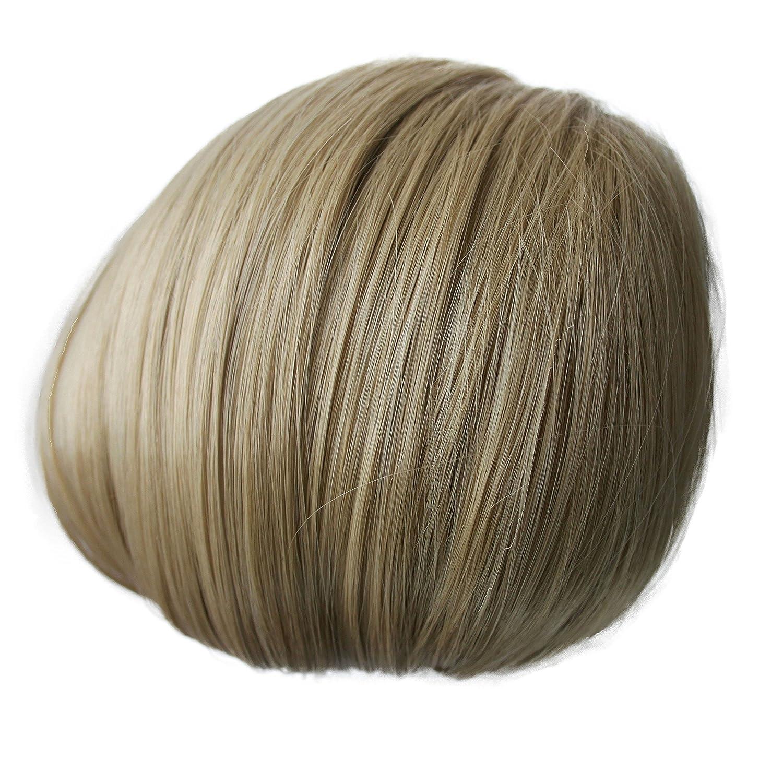 PRETTYSHOP Dutt Haarteil Zopf Haarknoten Hepburn-Dutt Haargummi Hochsteckfrisuren schwarzbraun #3 H402