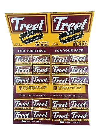 200 Treet Carbon Steel Rasierklingen