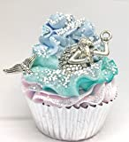 Mermaids Cupcake Bath Bomb - Let's Be Mermaids