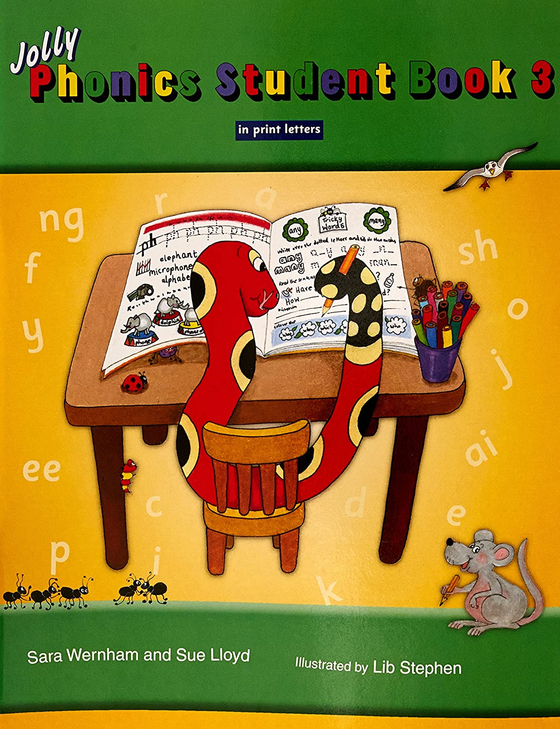 Workbooks jolly phonics workbook 1 free download : Amazon.com: Jolly Phonics Student Book 3 (Colour in Print Letters ...