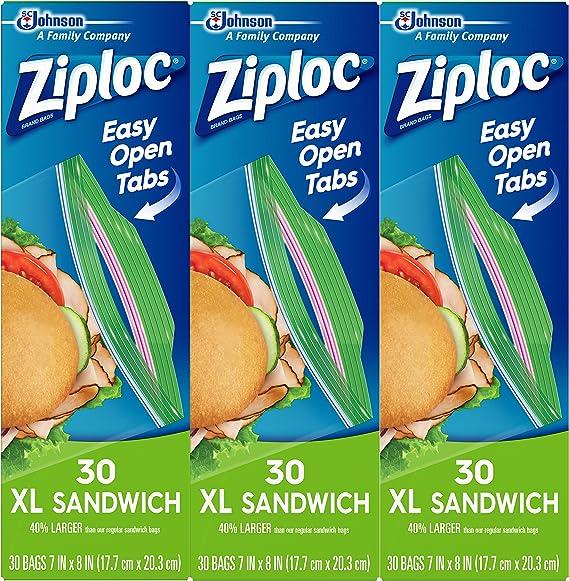 Ziploc Sandwich Bags