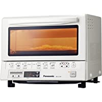 Panasonic FlashXpress NB-G110PW Toaster Oven with Double Infrared Heating (White)