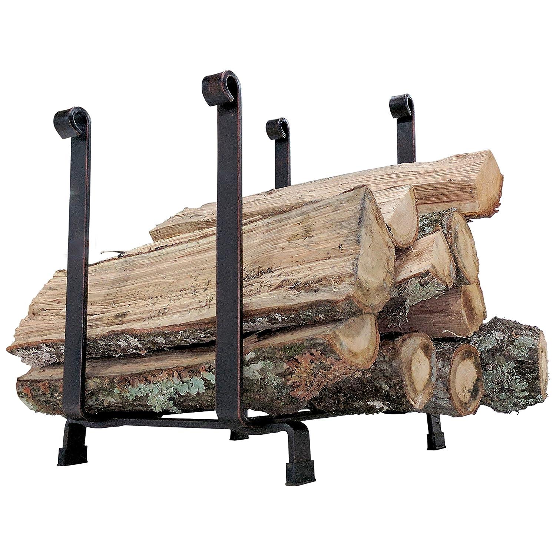 Titan Steel Hearth Firewood Log Rack Storage Holder 18 H x 17 L