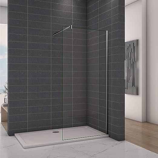 Perfect Walkin - Mampara de ducha para baño o cuarto de baño, 1000 ...