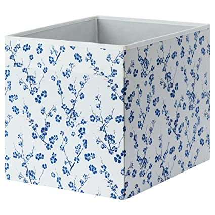 Drona caja de almacenaje Ikea 33 x 38 x 33 cm de tela plegable lados unidad