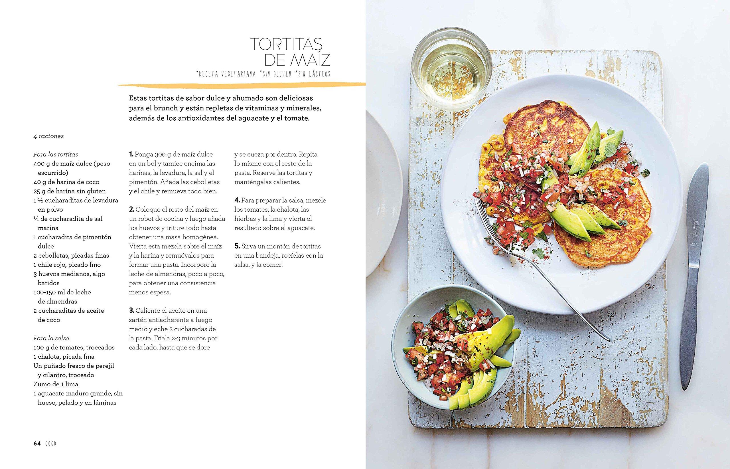 Coco: 40 recetas irresistibles cargadas de energía: Emily Jonzen ...