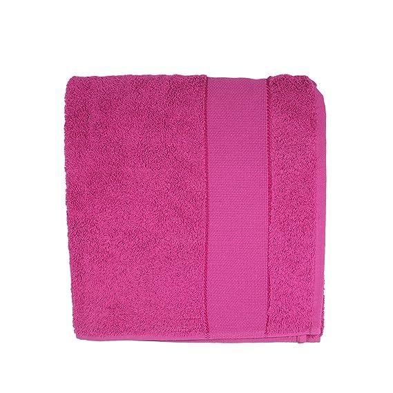 Distrifil-Toallas de baño, de punto de cruz, diseño de rosa, 112: Amazon.es: Hogar