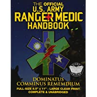 """The Official US Army Ranger Medic Handbook - Full Size Edition: Master Close Combat Medicine! Giant 8.5"""" x 11"""" Size…"""