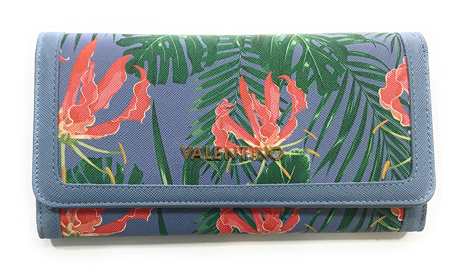 Cartera Valentino Atlantic Azul 20x11x3 cm: Amazon.es: Equipaje