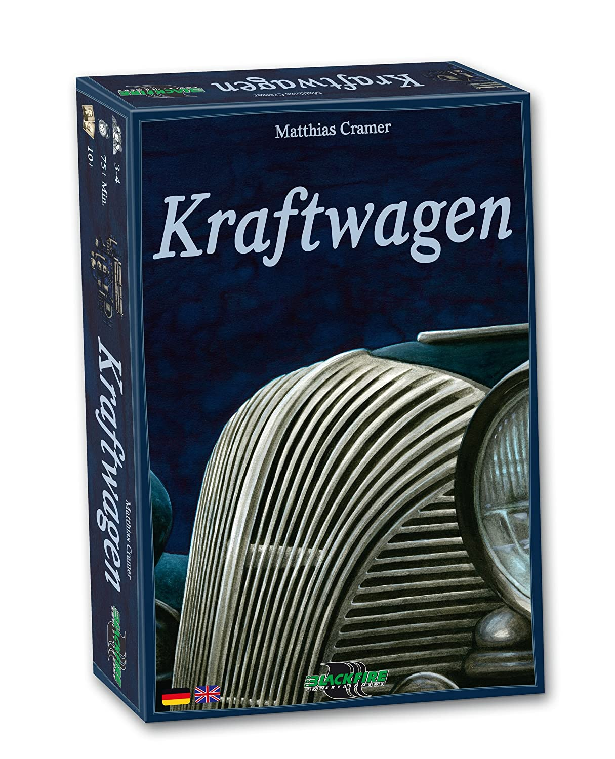 ADC Blackfire Entertainment ADCDE201501 - Kraftwagen Brettspiel / Strategiespiel von Matthias Cramer