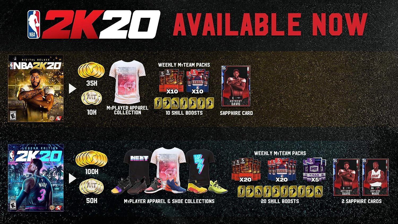NBA 2K20 Legend Edition for Xbox One [USA]: Amazon.es: Take 2 ...
