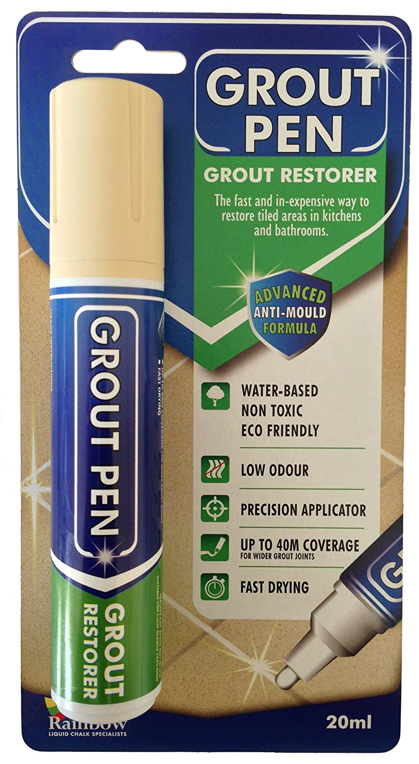 Grout Pen Large Beige  Ideal To Restore The Look Of Tile Grout Lines    Amazon