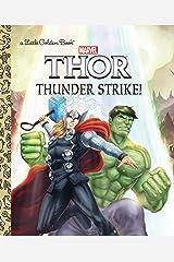Thunder Strike! (Marvel: Thor) (Little Golden Book) Kindle Edition