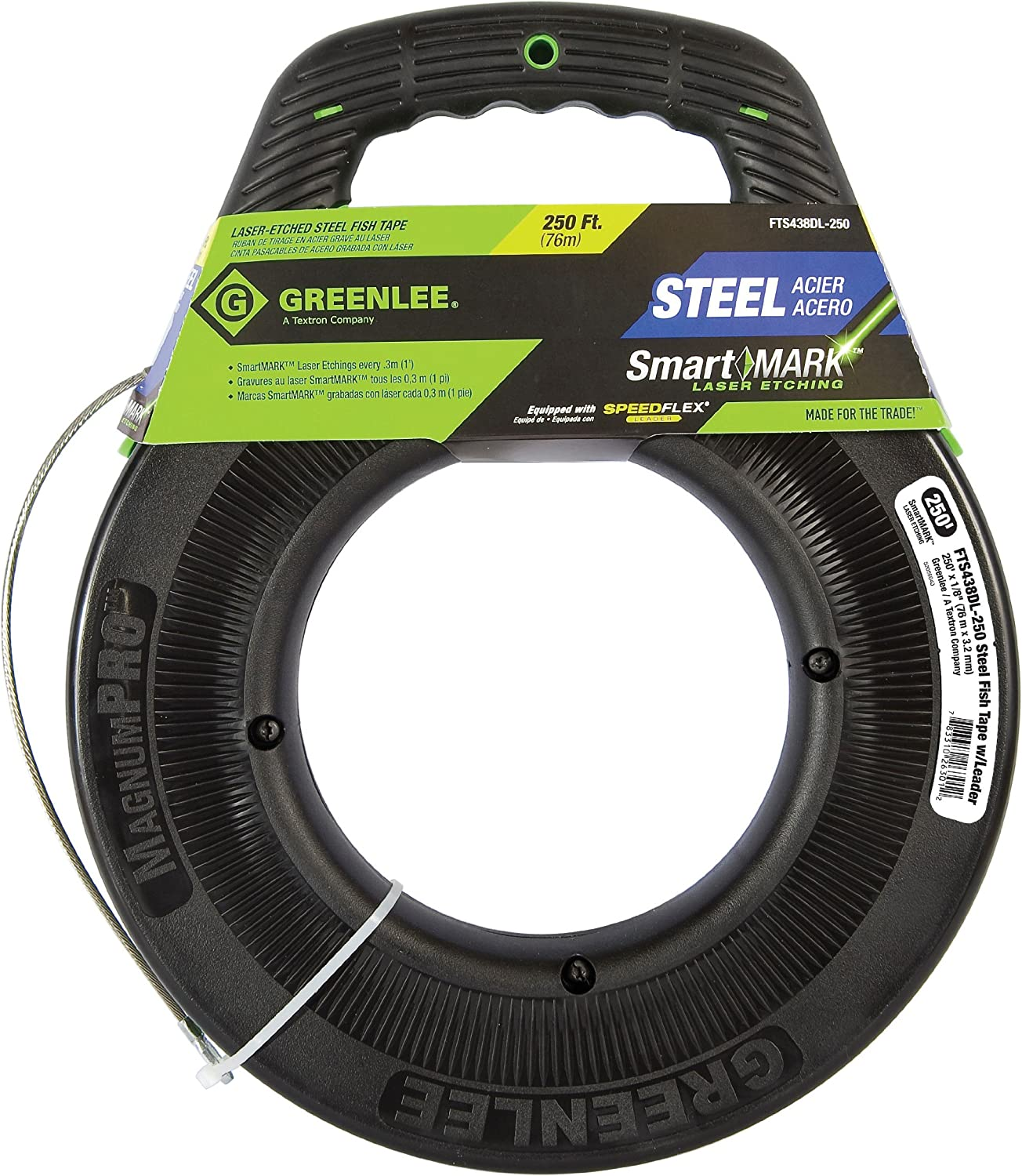 Wire Pulling Tools 75 Feet Fish Tape Steel Cable