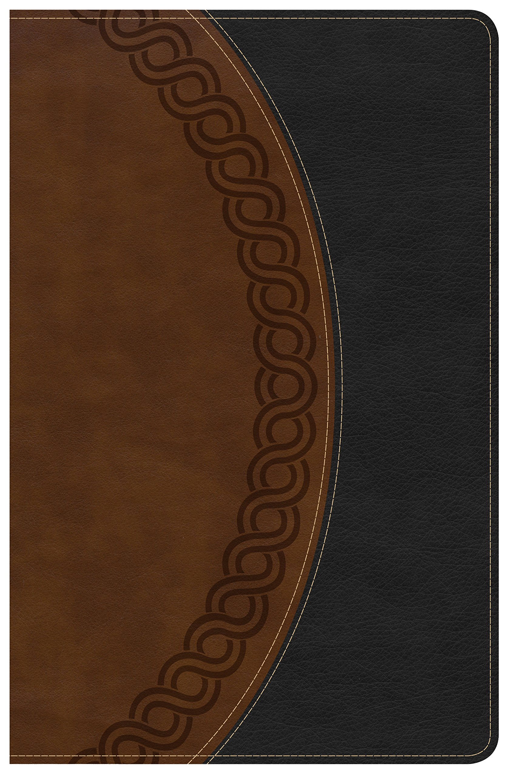 Read Online KJV Large Print Personal Size Reference Bible, Black/Brown Deluxe LeatherTouch, Indexed pdf epub