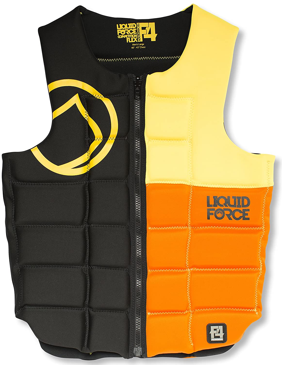 最新作 LIQUID FORCE Liquid FLEX COMP VEST 2016 - XL- BLACK Force/YELLOW/ORANGE 2016 by Liquid Force B01B3ANRF0, 雑貨屋shion:a0820ea1 --- senas.4x4.lt