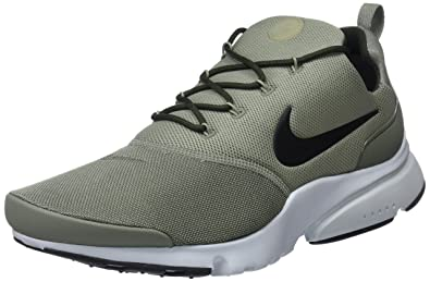 Nike Presto Fly, Chaussures de Gymnastique Homme, Gris (Dark Stucco Black Pure Platinum 011), 42.5 EU