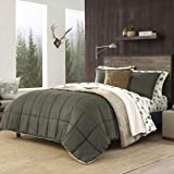 Eddie Bauer Home | Sherwood Collection | Comforter Set-Ultra Soft and Cozy, Sherpa Reversible Bedding with Matching Sham…
