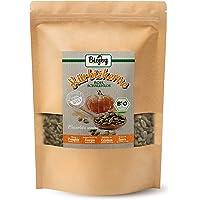 Biojoy Semi di Zucca BIO sgusciati crudi | naturali, senza sale | per infornare il pane e per mangiare | semi adatti per un misto di insalate e per dolci | senza conservanti | Cucurbita pepo (1 kg)