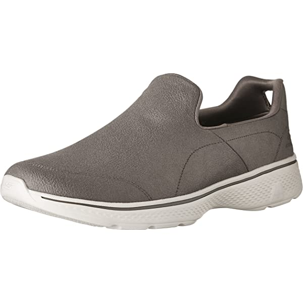 Skechers Men's Go Walk 4 Remarkable Khaki Casual Shoe 8