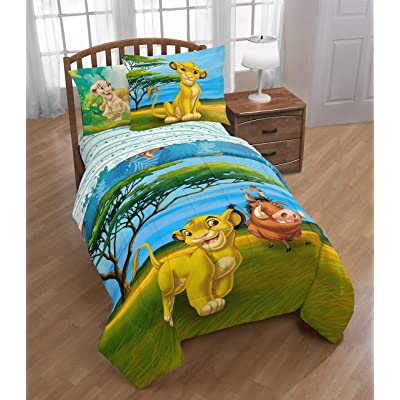 Franco Lion King Deep Jungle Twin/Full Comforter Set: Home & Kitchen