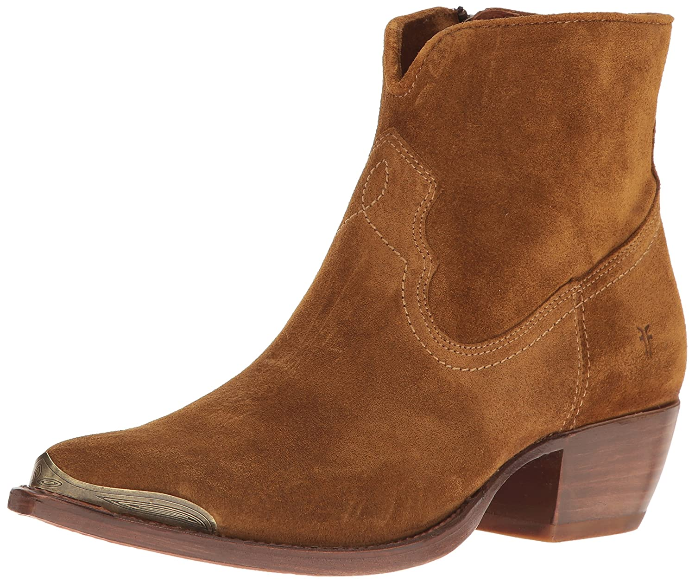 FRYE Women's Shane Tip Short Western Boot B01H5MYE8O 8 B(M) US|Wheat