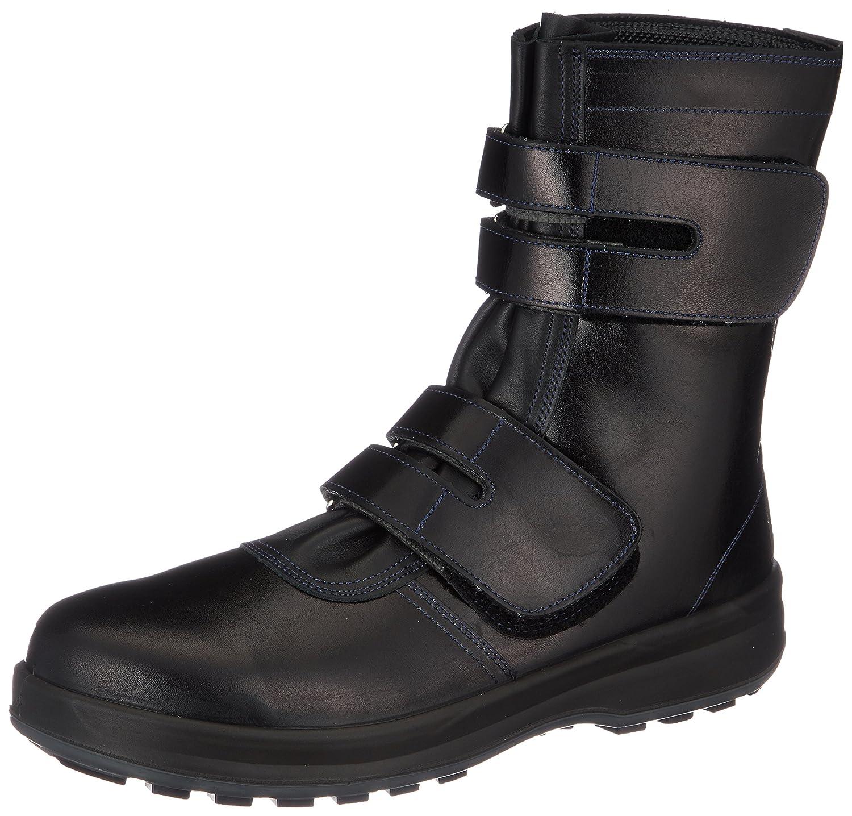 [シモン] simon 安全靴 長編上 マジック 8538 B001D7IC9K ブラック 28.0 cm