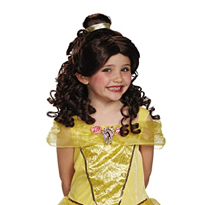 Disney Princess Belle Beauty & the Beast Girls' Wig: Toys & Games