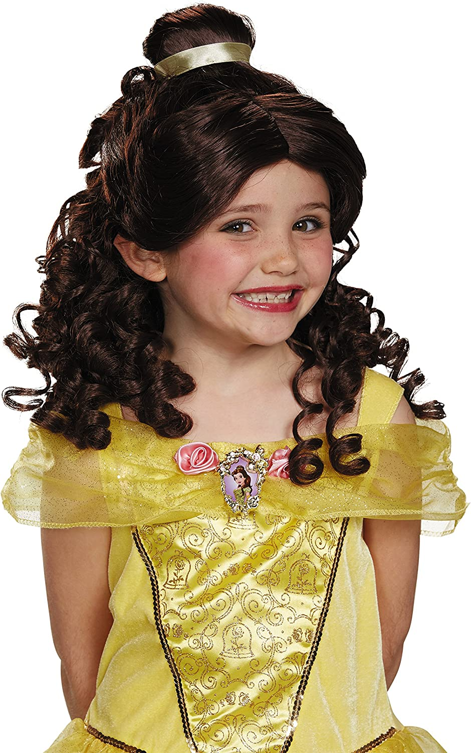 Disguise Belle Child Disney Princess Beauty /& The Beast Wig One Color by Disguise One Size Child